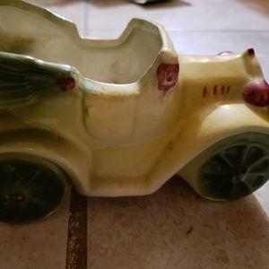 Ceramic old school car